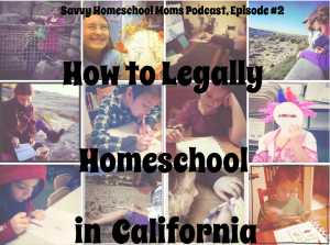 Legally Homeschool in California