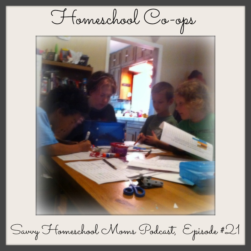Homeschool Co-ops, Savvy Homeschool Moms Podcast