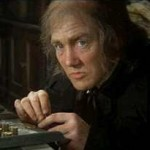 Scrooge with Albert Finney, a Christmas favorite in our house!