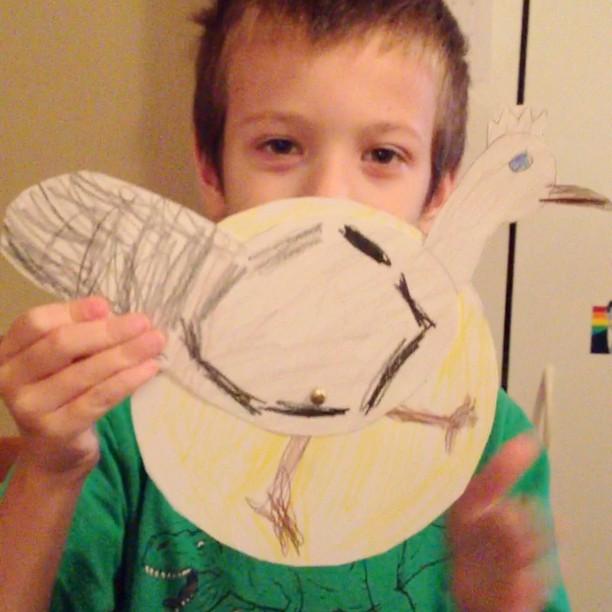 Jack-Jack made a roadrunner -Beckie #homeschool #science