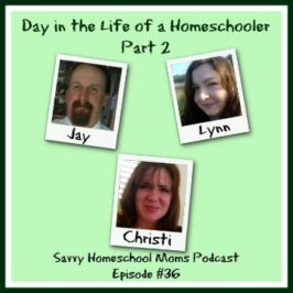 Day in the Life of a Homeschooler, part 2 (Ep 36 9/29/13)