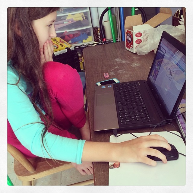 Using Canva to create a book. #homeschool