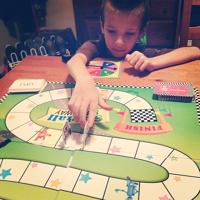 Playing Starfall Speedway, as mentioned in Episode 38 :) -Beckie #homeschool #Reading
