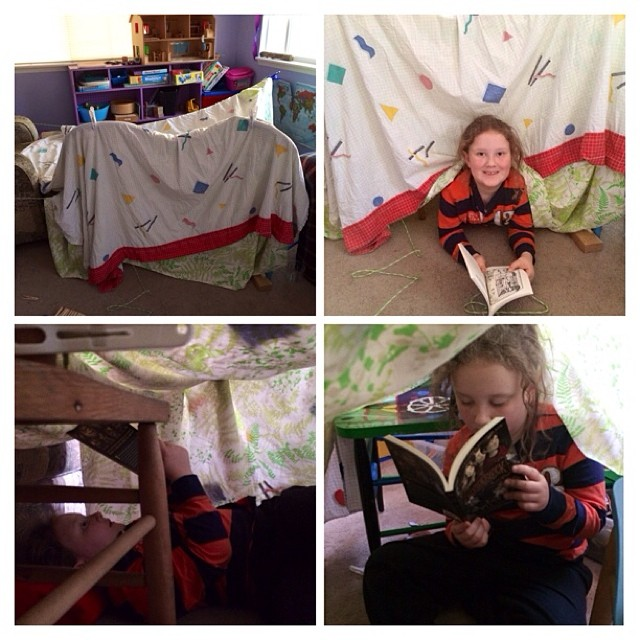 $6 Fort Building Kit=Money Well Spent!