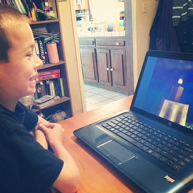 Studying pyramids for #minecrafthomeschool #homeschool #history