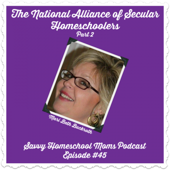 Episode 45 of the Savvy Homeschool Moms Podcast
