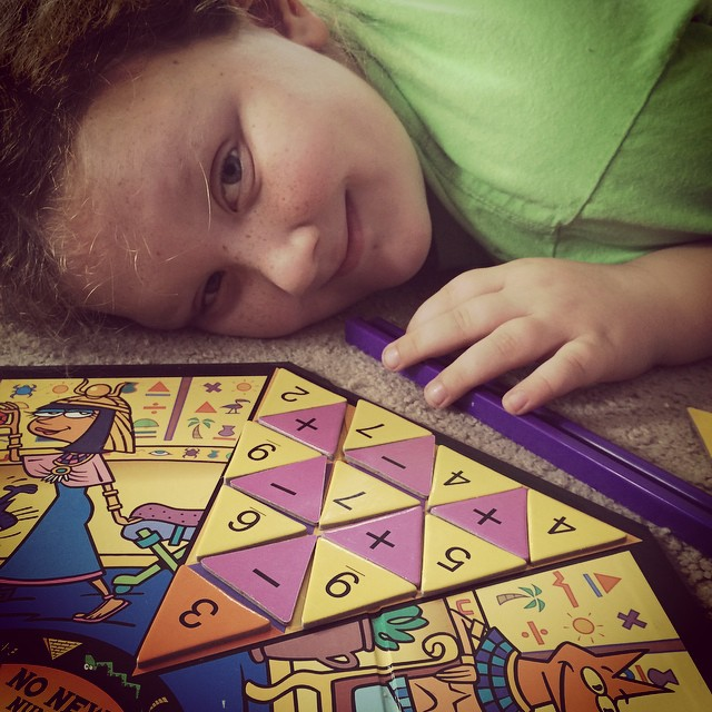 Not easy to fill! #totallytut #games #math #homeschooling