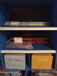 New Organizer for All About Learning Books