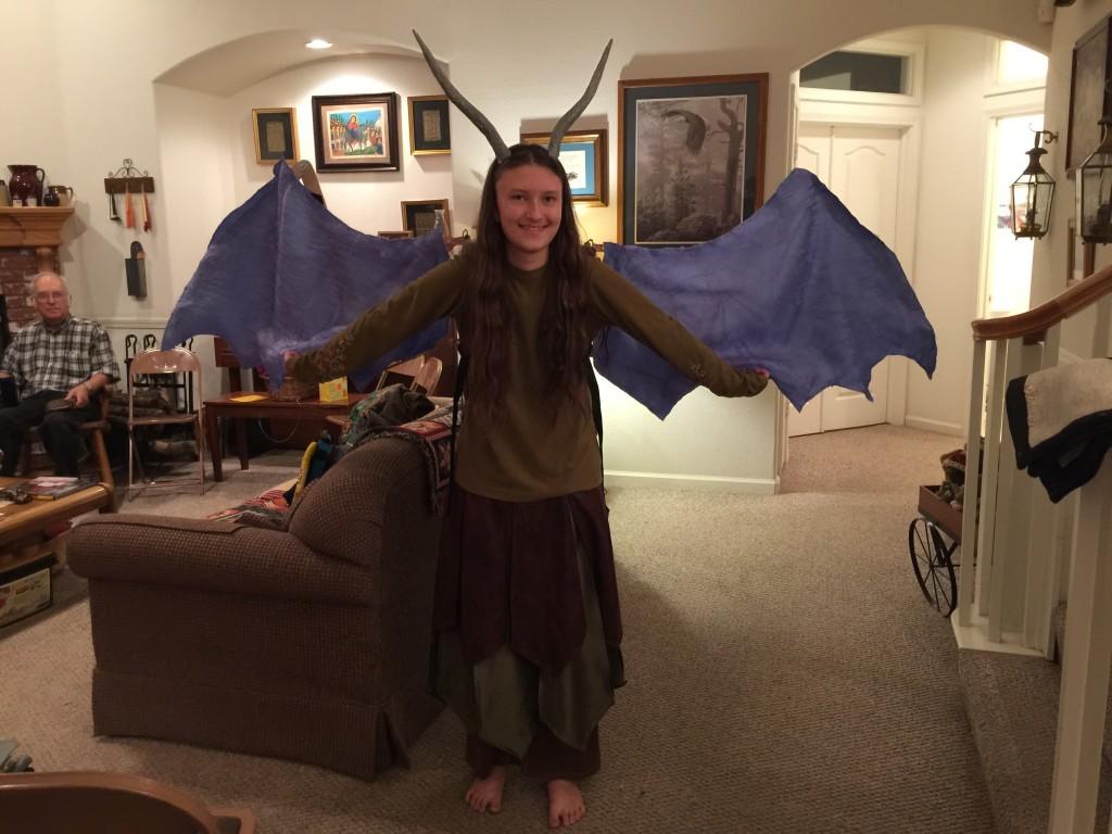 Maeven the human dragon